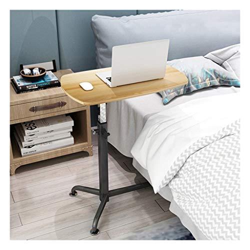 Pflegetisch Notebook Tisch Workstation Für Schlafzimmer, Wohnzimmer, Sofa Geeignet Für Alle Arten Von Laptops Und Tablets Beistelltisch Notebooktisch (Color : Wood, Size : 62x38cm)