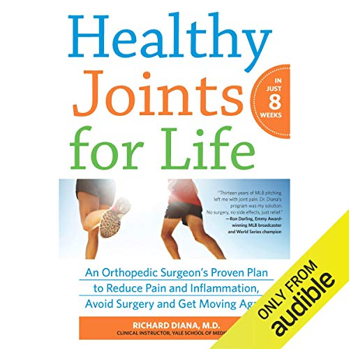 Healthy Joints for Life audiobook cover art