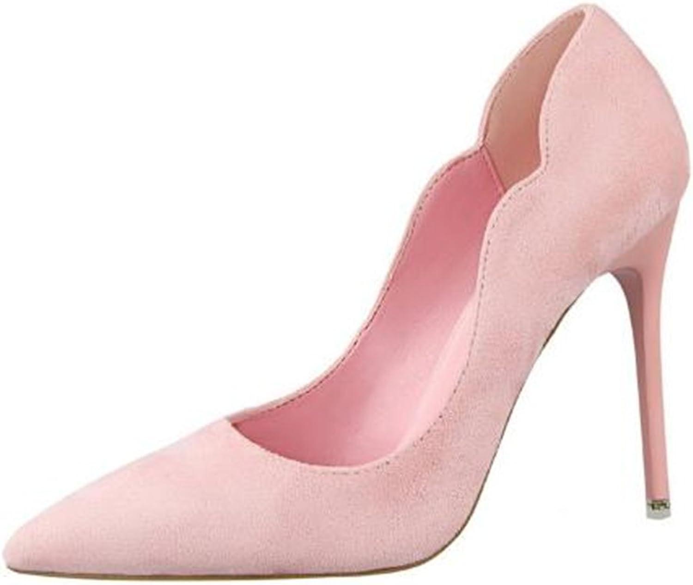 Hanglin Trade Women Pointed Toe High Heels Fashion Sexy shoes Women Pumps Wedding shoes Business Working shoes