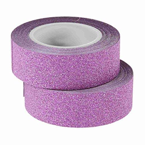 Tashido 2 x 10 m Washi Tape Stick Autoadhesivo Decorativo Decora Craft de papel rosa