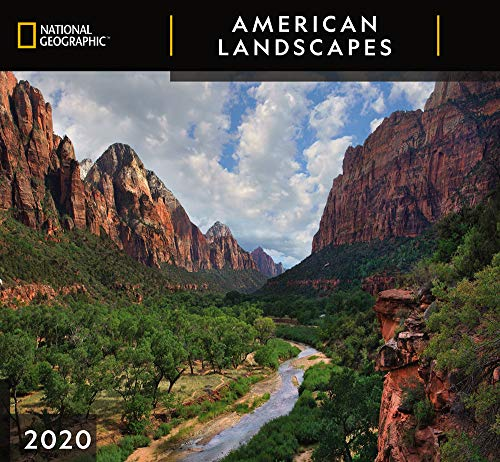 National Geographic American Landscapes 2020 Wall Calendar