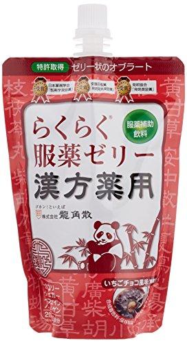 『龍角散 漢方薬服用ゼリーいちごチョコ風味 200g』の1枚目の画像