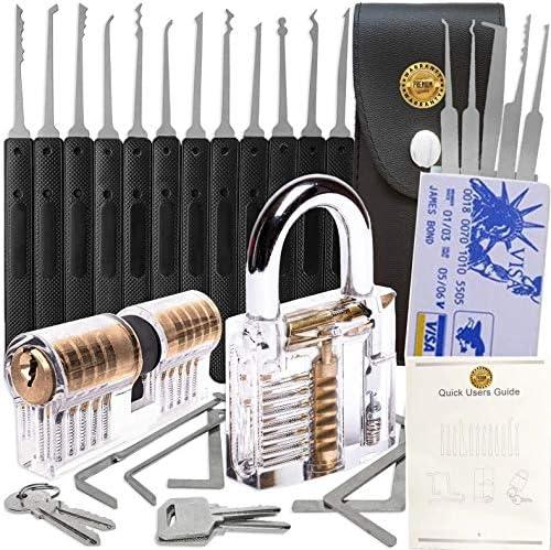 Multi Function Pick Tool Set 17PCS kit product image