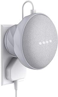 KIWI design Google Home mini 壁掛け ホルダー グーグルホームミニ ウォールマウント (ライトグレー)