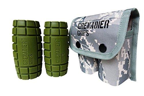 Grenadier Grips – Puños Únicos de Mancuernas/Barra para Un Enorme...