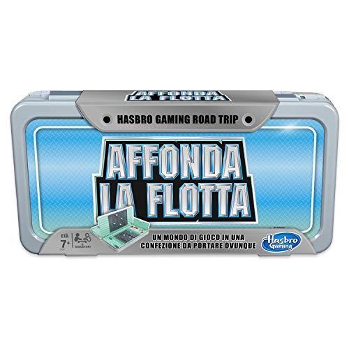Hasbro Gaming- Affonda la Flotta Road Trip, Edizione da Viaggio, Multicolore, E3280103