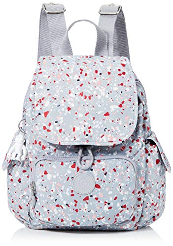 Kipling Damen City Pack Mini Rucksack, Mehrfarbig (Speckled), 27x29x14 Centimeters