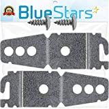 Ultra Durable 8269145 Undercounter Dishwasher Mounting Bracket Replacement part by Blue Stars - Exact Fit for Kenmore Whirlpool KitchenAid Dishwashers - Replaces WP8269145 AP3039168 - PACK OF 2