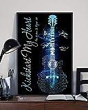 Guitar kickstart my heart motley crue poster
