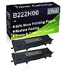 Paquete de 2 cartuchos de impresora compatibles con Lexmark B222H00 de alto rendimiento para impresoras Lexmark B2236DW, MB2236ADW, MB2236ADWE