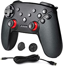 YCCSKY Pro Controller for Switch, Wireless Pro Controller Gamepad Joystick with Turbo Motion Control for Switch/PC/ PS3 and Android System