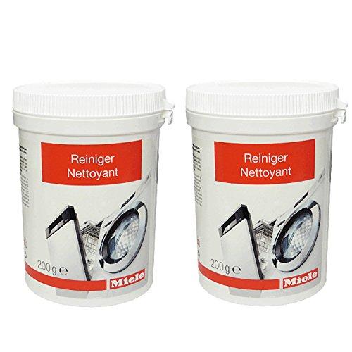 Miele - Limpiador de máquinas 10133940 - 200g (2 unidades)