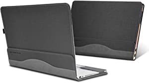 ppker Case for HP Envy X360 15 15-ed 15-ee Series 15.6 Inch Laptop Protective Cover (for Envy x360 15 inches Dimensions 357.8x230.1x18.7mm, Grey)