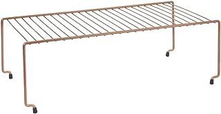 Metaltex 36.25.03 Pont de Rangement-Brooklyn, Métal cuivré, 49 x 34 x 26 cm