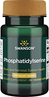 Swanson Conjugated Phosphatidylserine with Dha 100 Milligrams 30 Capsules