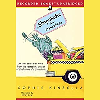 Shopaholic Takes Manhattan audiobook cover art