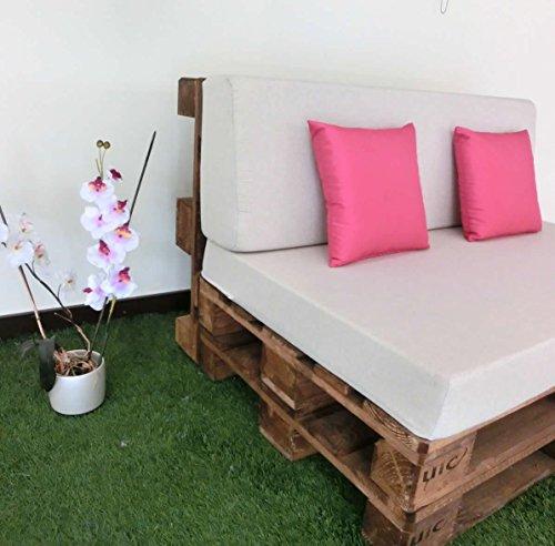 Home Serra Sofa, Sitzfläche und Lehne mit Schaumstoffpolsterung, Stoffüberzug, Leinenstoff-Optik Chill-Out-Sofa