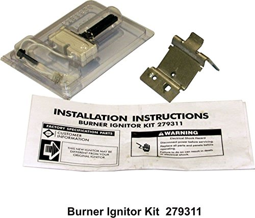 Kenmore 279311 Dryer Burner Igniter Kit Genuine Original Equipment Manufacturer (OEM) part for Kenmore & Gas Dryer Burner