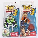 Toy Story Figura De Acción Woody Buzz Lightyear Robot Cowboy Modelo Divertido Juguetes 18Cm