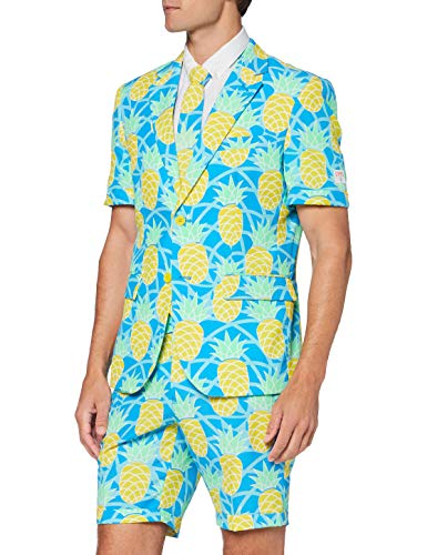 OppoSuits Lustige Sommeranzüge für Herren - besteht aus Sakko, Hose und Krawatte