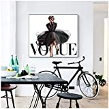 MULMF Mode Figur Poster und Drucke Vogue Wall Pop Art