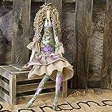 Vintage Künstlerpuppe 47cm Tilda-Stil Stoffpuppe Tilda Shabby Handarbeit Puppe