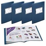 Snopake 15641 - Paquete de 20 carpetas A4 y 40 de carpetas A5 para exponer revistas y...