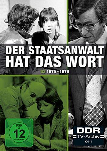 Der Staatsanwalt hat das Wort - Box 3: 1975 - 1976 (DDR-TV-Archiv) [3 DVDs]