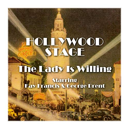 Hollywood Stage - The Lady Is Willing audiobook cover art
