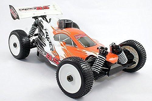 Hyper Nitro 8.5 RTR W 2.4G Hyper .21 3-Port Race Engine W Savox Hyper