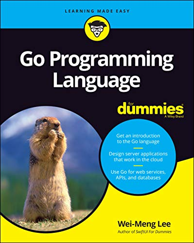Go Programming Language For Dummies Front Cover