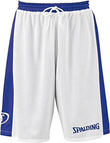 SPALDING - ESSENTIAL REVERSIBLE SHORT - Short de basket - Short reversible - Confort maximal - royal/blanc - M