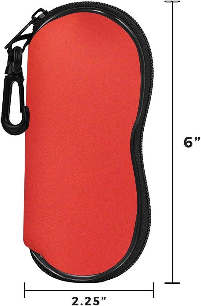 Foam Eyeglass Case For Anywhere/Everywhere Storage (Red)