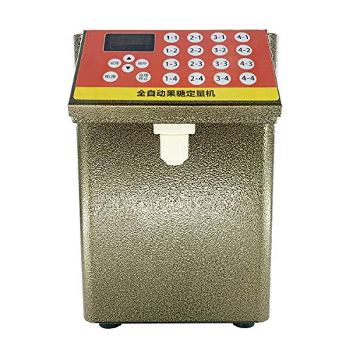Lowest Price! SUDEG Automatic Fructose Quantitative Machine Bubble Aid Tea Equipment Sugar Syrup Dis...