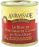 Bloc de Foie Gras de Canard du Sud-Ouest IGP 130g