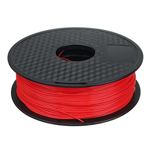 MASUNN 1.75mm 1kg/2.2lb PLA 3D Printer Filament For Mendel Printrbot Reprap Prusa - Red
