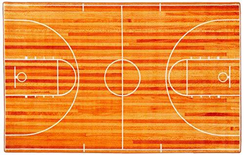 Basketball Court Themed Rug