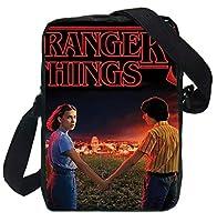 Men Women Students Mini Messenger Bag Stranger Things 3 Prints School Shoulder Bags for Kids Boys Girls Crossbody Bag