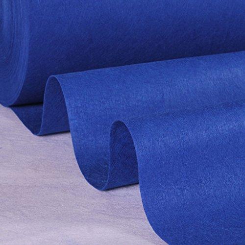 Blue Runner - Alfombra de pasillo desechable para bodas, diseño de escaleras,...