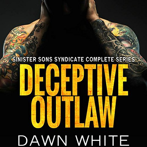 Deceptive Outlaw audiobook cover art