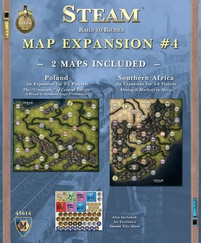 Mayfair Games MFG45614 - Brettspiele, Steam Expansion 4