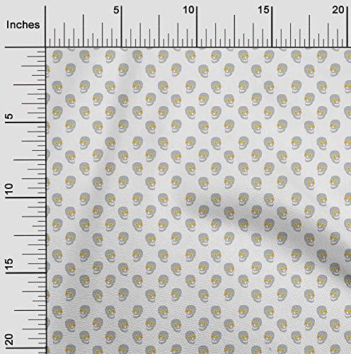 oneOone Popeline Di Cotone Tessuto Halloween Abbigliamento Trapuntatura Tessuto Di Stampa Del Tessuto Di Diy Per Metro 42 Largo Pollici