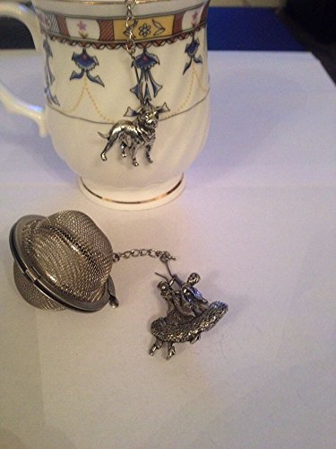Ballroom Dancer 5,1 cm Tea Ball mesh infusore in acciaio INOX sfera colino G08