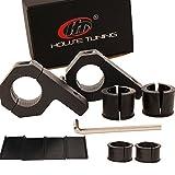 Roll Bar Clamps 0.75 inch (3/4'),0.875 inch (7/8'),1 inch Tube Mounting Bracket Clamp, Aluminum Tube Clamps for Led light Bar Fog lamp ATV Whips Mount