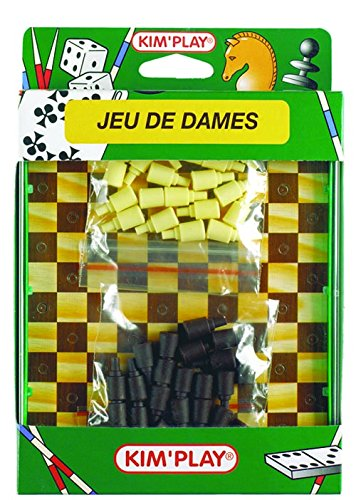a0400015 Gesellschaftsspiele Damespiel