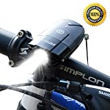 shenkey Bicycle Lights | 2000mAh/1000 Lumen LED Bicycle Headlight USB Rechargeable,Super Bright...