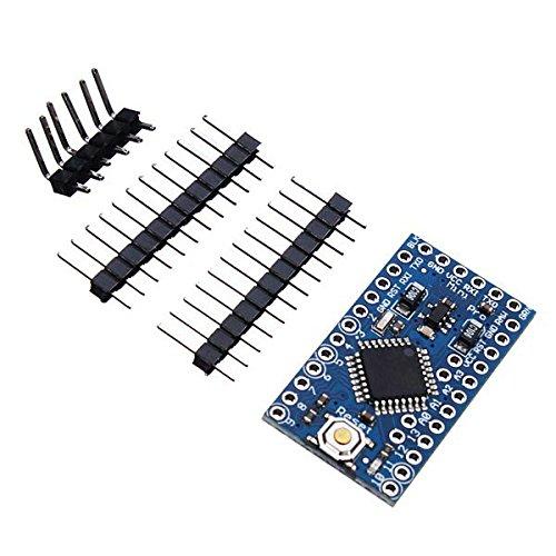 Doradus 3.8MHz 3v ATmega328P-au pro bordo de mini microcontrolador con alfileres para Arduino