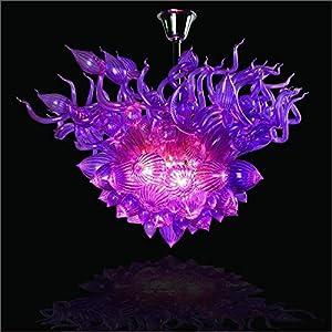 SHIJING Nuevo diseño de Soplado de Vidrio de Murano Luces Pendientes del Vidrio del Arte de Las Luces Colgantes de Cristal de Murano Lámparas