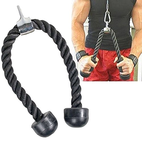 KOMODO Tricep and Bicep Rope Pull Down Cable Attachment
