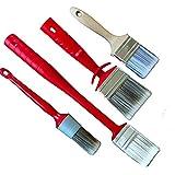 Rotix Bague Pinceau Pinceau pour radiateur 83091044Pinceau plat pour wasserlösliche Vernis lot de 4